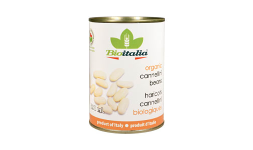 Organic Canellini Beans- Code#: BU1329