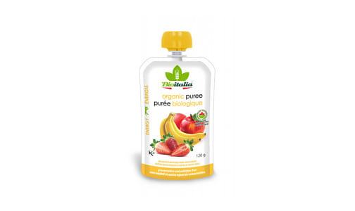 Organic Apple Strawberry Banana Puree- Code#: BU1335