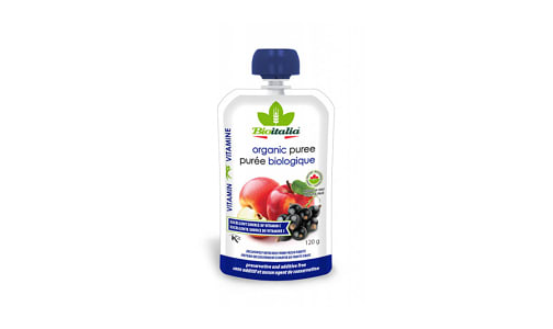 Organic Apple Black Currant Puree- Code#: BU1336