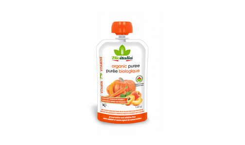 Organic Carrot Apricot Pumpkin Puree- Code#: BU1337