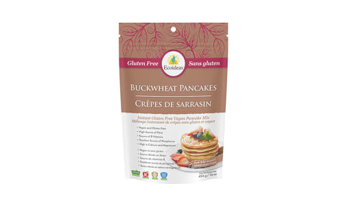 Organic Buckwheat Pancake - Vegan & GF- Code#: BU1343