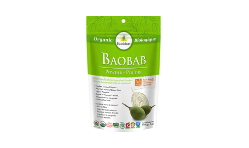 Organic Baobab Fruit Pulp Powder- Code#: BU1346
