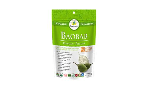 Organic Baobab Fruit Pulp Powder- Code#: BU1346