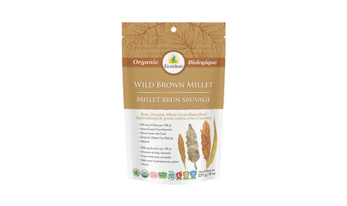 Organic Brown Millet- Wildform- Code#: BU1349
