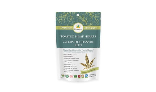 Organic Toasted Hemp Hearts- Code#: BU1351