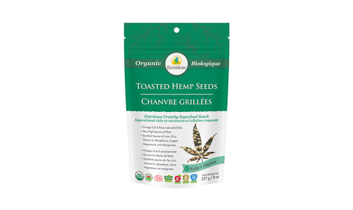 Organic Toasted Hemp Seeds -   Kelp (laminaria digitata)- Code#: BU1352