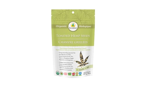 Organic Toasted Hemp Seeds -  Garlic- Code#: BU1353
