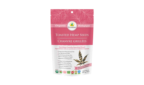 Organic Toasted Hemp Seeds - Himalayan Salt- Code#: BU1354