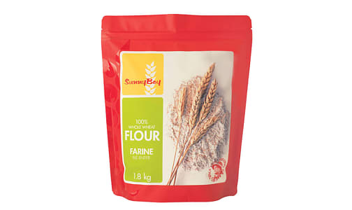 100% Whole Wheat Flour- Code#: BU1729
