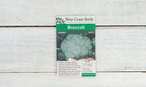 Everest  Broccoli Seeds- Code#: BU1770