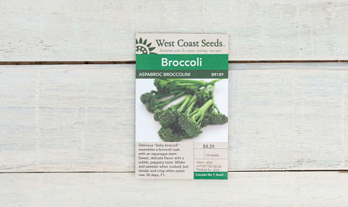 Aspabroc  Broccolini Seeds- Code#: BU1771