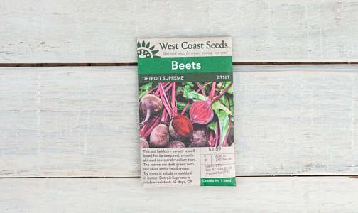 Detroit Supreme  Beet Seeds- Code#: BU1773