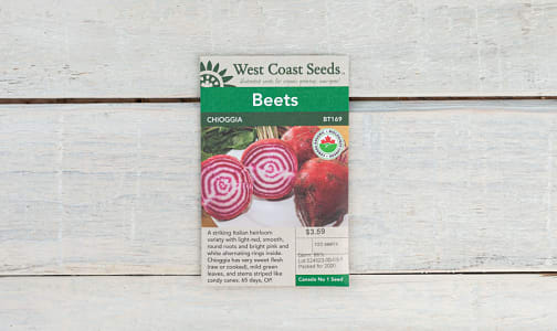 Organic  Chioggia  Beet Seeds- Code#: BU1776