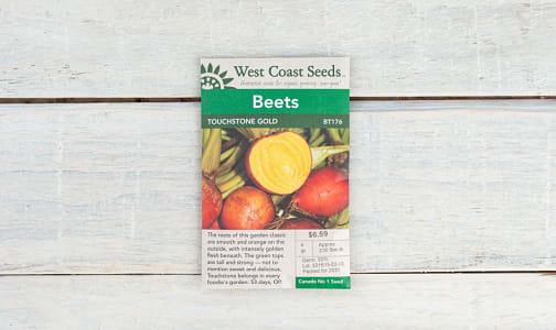 Touchstone  Gold Beet Seeds- Code#: BU1779