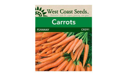 Flyaway  Carrot Seeds- Code#: BU1791