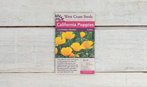 California Orange  Poppy Seeds- Code#: BU1804
