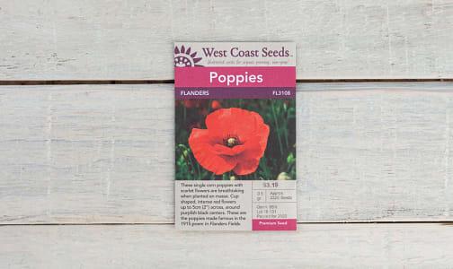 Flanders  Poppy Seeds- Code#: BU1805