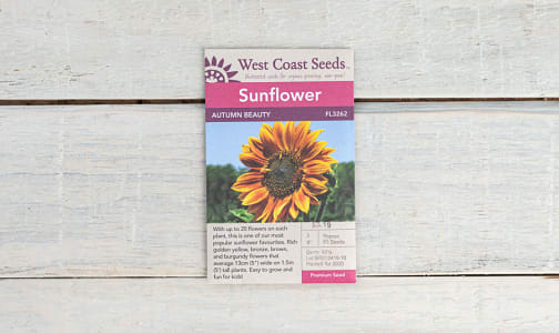Autumn Beauty  Sunflower Seeds- Code#: BU1807