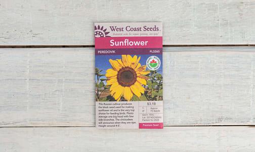 Organic  Peredovik  Sunflower Seeds- Code#: BU1808