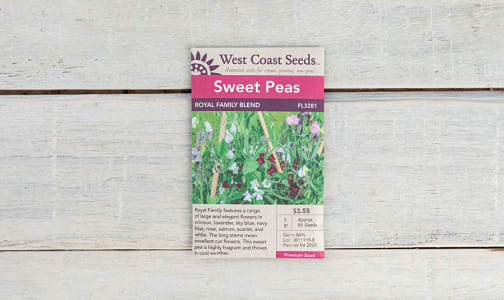Royal Family  Flower Seed Blend- Code#: BU1811