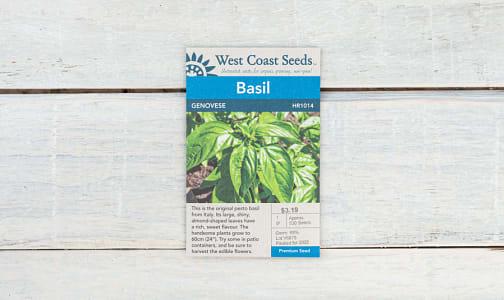 Genovese  Basil Seeds- Code#: BU1821