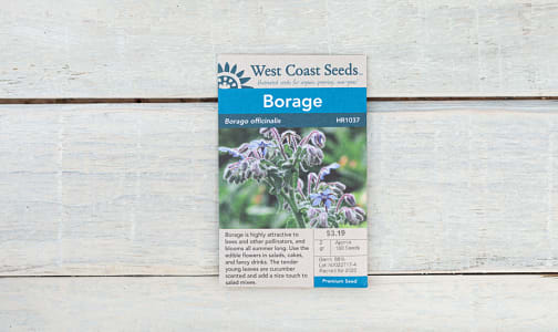 Borage Seeds- Code#: BU1826