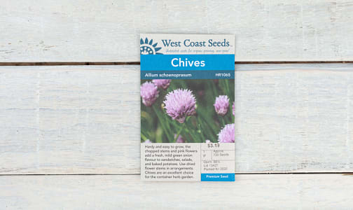 Chives Seeds- Code#: BU1829
