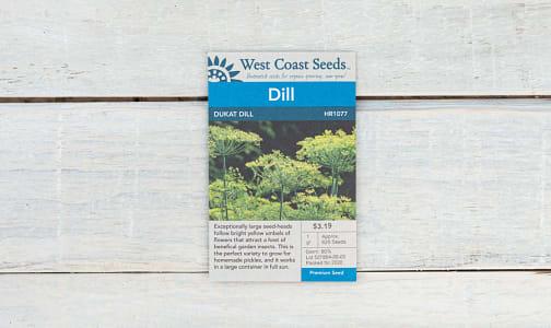 Dukat  Dill Seeds- Code#: BU1832