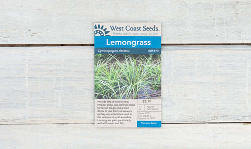 Lemongrass Seeds- Code#: BU1838