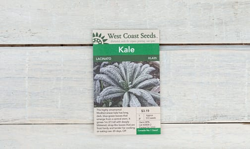 Lacinato  Kale Seeds- Code#: BU1841