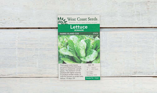 Parris Island  Lettuce Seeds- Code#: BU1851
