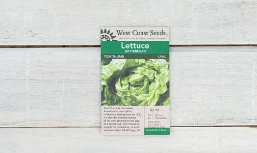 Tom Thumb  Lettuce Seeds- Code#: BU1854