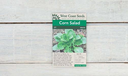 Vit Corn Salad  Lettuce Seeds- Code#: BU1856