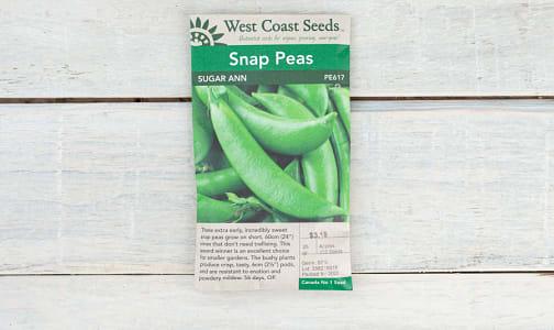 Sugar Ann  Pea Seeds- Code#: BU1869