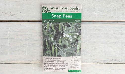 Cascadia  Snap Pea Seeds- Code#: BU1871