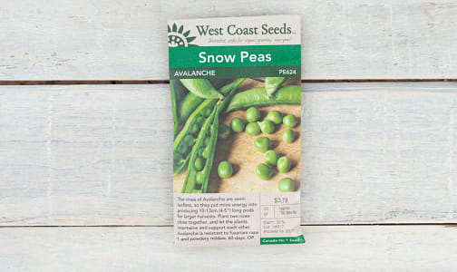 Avalanche  Snow Pea Seeds- Code#: BU1875