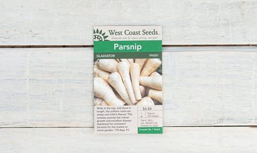 Gladiator  Parsnip Seeds- Code#: BU1879