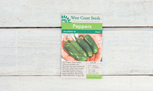 Jalapeno Pepper Seeds- Code#: BU1881