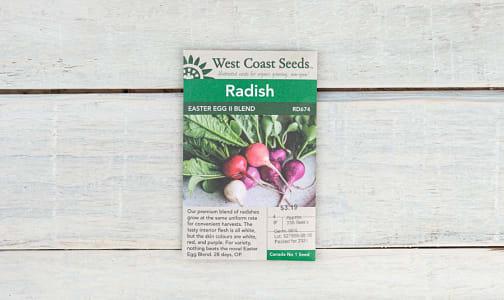 Easter Egg II  Radish Seeds- Code#: BU1883