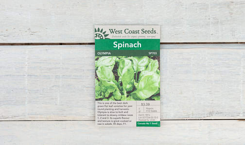 Olympia  Spinach Seeds- Code#: BU1885