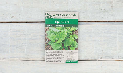 'New Zealand  Spinach Seeds- Code#: BU1888