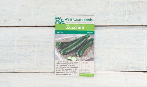 Raven  Zucchini Seeds- Code#: BU1894