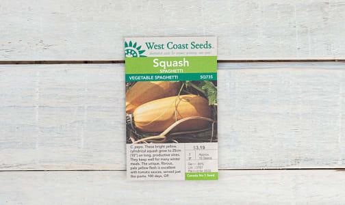 Spaghetti Squash Seeds- Code#: BU1897
