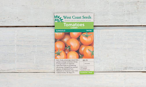 Sungold  Cherry Tomato Seeds- Code#: BU1902