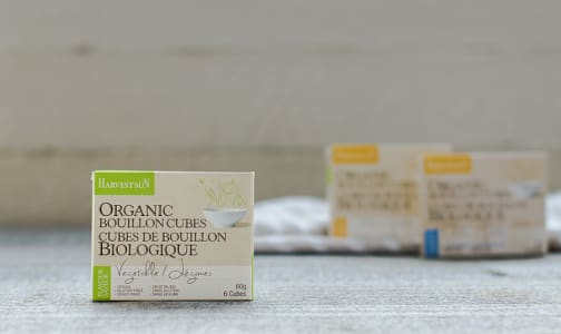 Organic Vegetable Bouillon Cubes- Code#: BU260