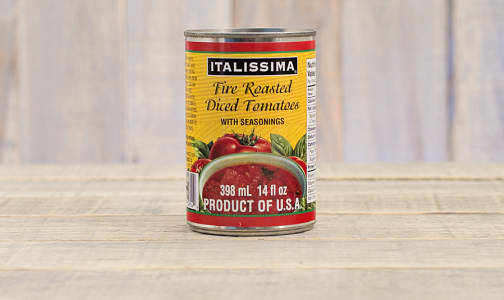 Fire Roasted Diced Tomatoes- Code#: BU282