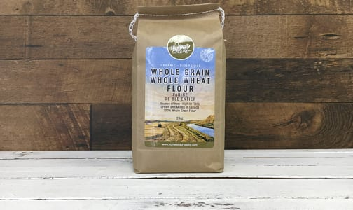 Organic Flour, Whole Wheat- Code#: BU3107