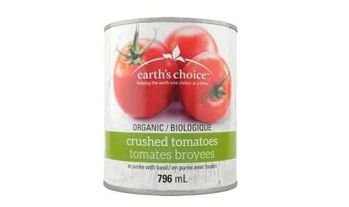 Organic Crushed Tomatoes with Basil- Code#: BU3307