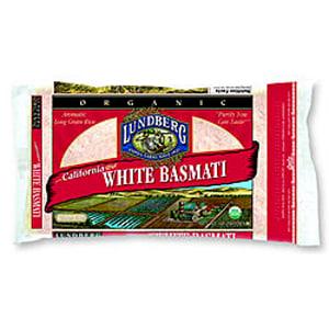Organic Rice White Basmati- Code#: BU3354