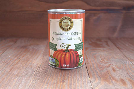 Organic Canned Pumpkin Puree - BPA Free- Code#: BU428